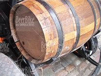 A barrel full of beer!