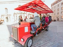 Beer bike in Riga with go karting experience